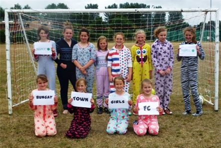 Girls onesie tournament