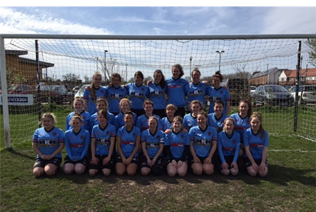 Ladies 1st Team and Reserves April 2015