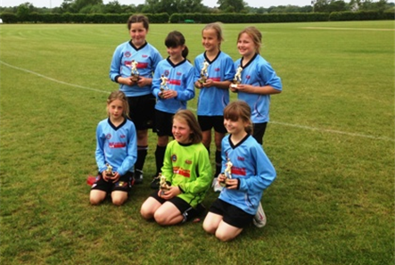 Girls Under 10s Runners-up