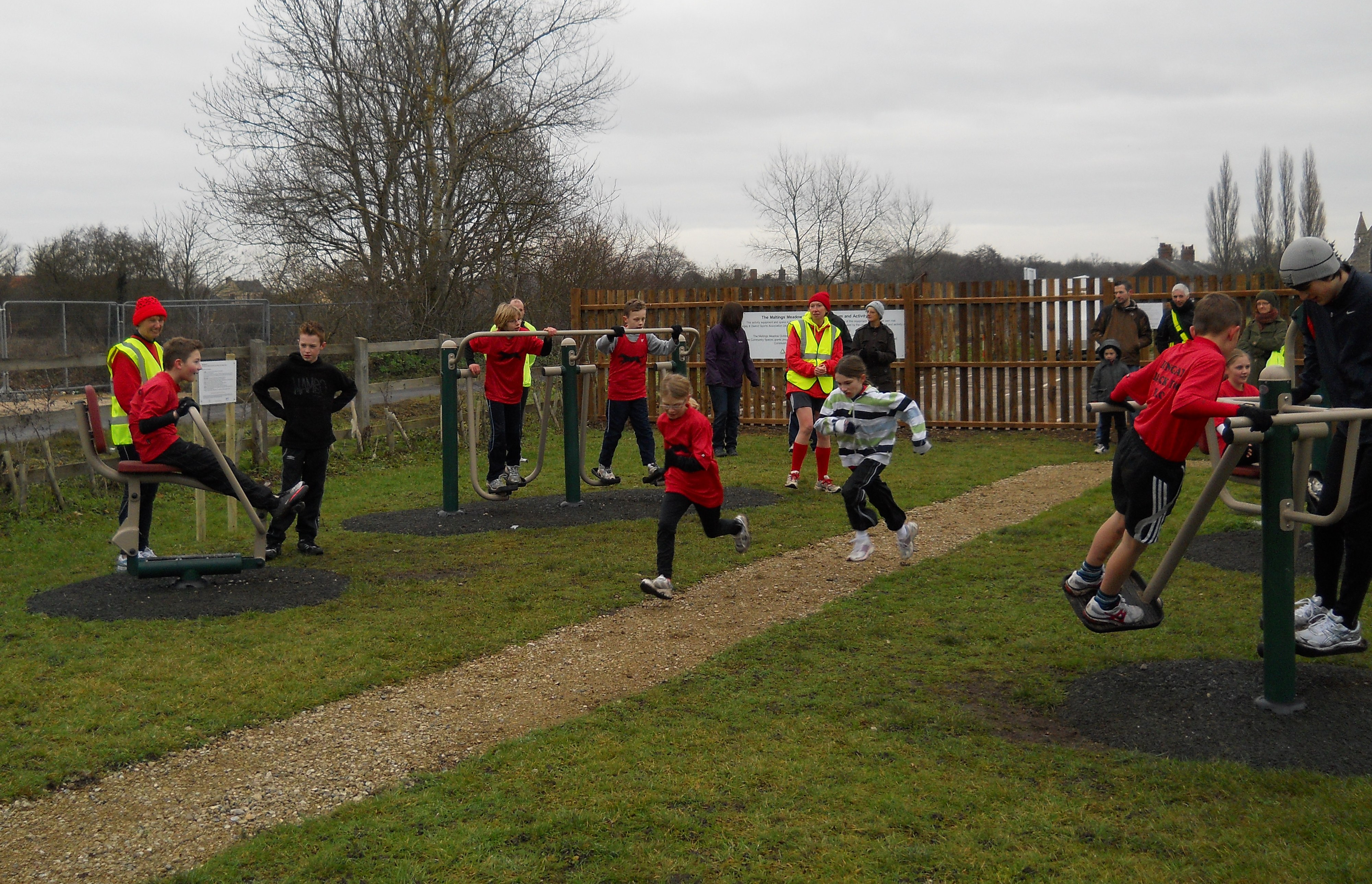 Running Club Activity Session